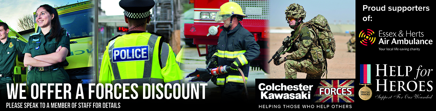 Colchester Kawasaki Forces Discount