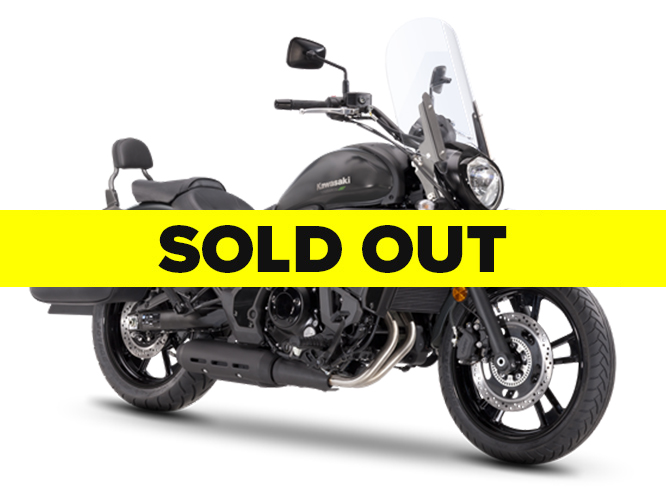Kawasaki Vulcan-S 650 Light Tourer - Black