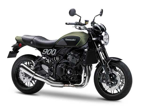 Kawasaki Z900RS - Matt Green