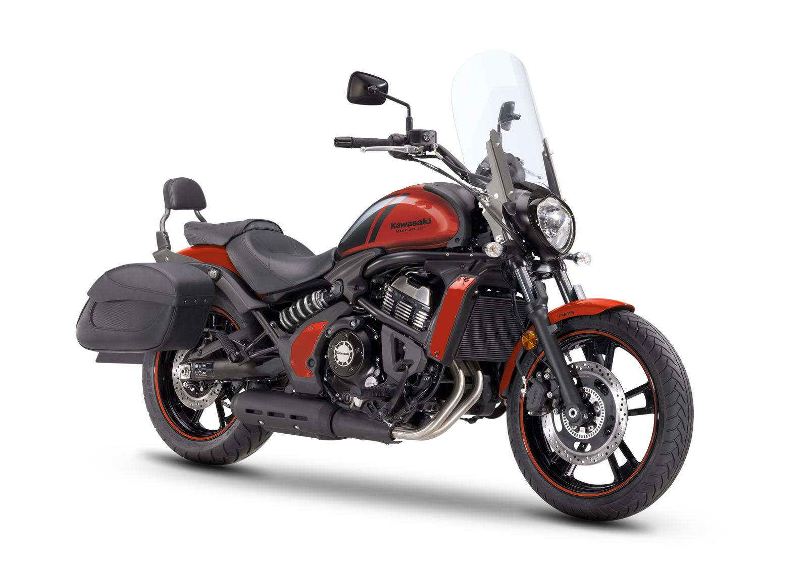 Kawasaki Vulcan-S 650 Light Tourer - Orange