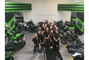 WE'VE MOVED! Colchester Kawasaki Unveil New 40,000ft2 Showroom