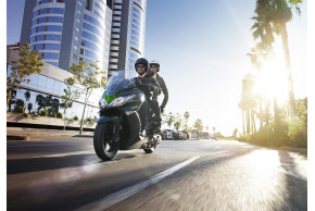 Kawasaki's 2019 Scooter Range Offers New Colours With Established Style