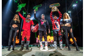 Team Green Kawasaki Take Three 2019 Championship Titles At Sheffield Arenacross Decider