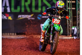 Team Green Kawasaki Retain Red Plate At 2019 Birmingham Arenacross