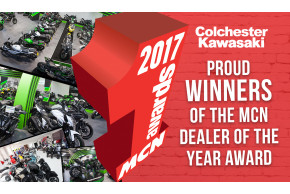 Colchester Kawasaki Wins MCN Dealer Of The Year Award