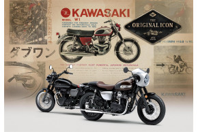 Street Or CAFE - Kawasaki Adds To The W Legend At EICMA