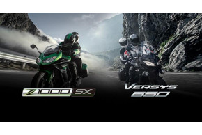 Free Tourer Upgrade when you buy a brand new Versys 650 or Z1000SX