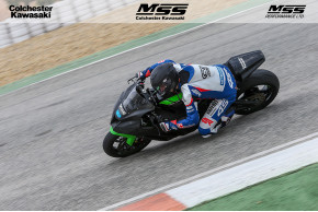 Successful First Test For William Dunlop With MSS Colchester Kawasaki