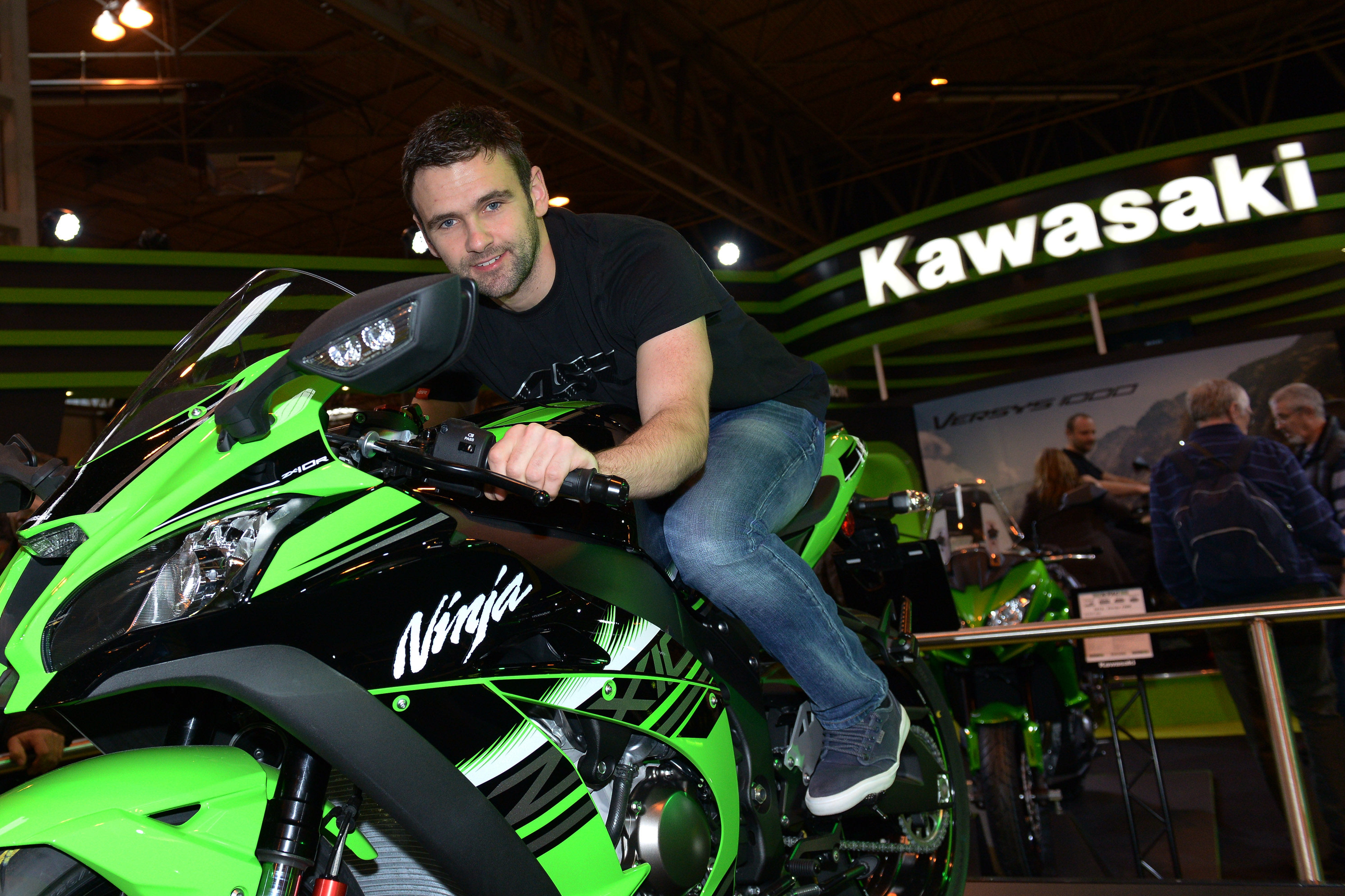 MSS Colchester Kawasaki support William Dunlop for 2016!