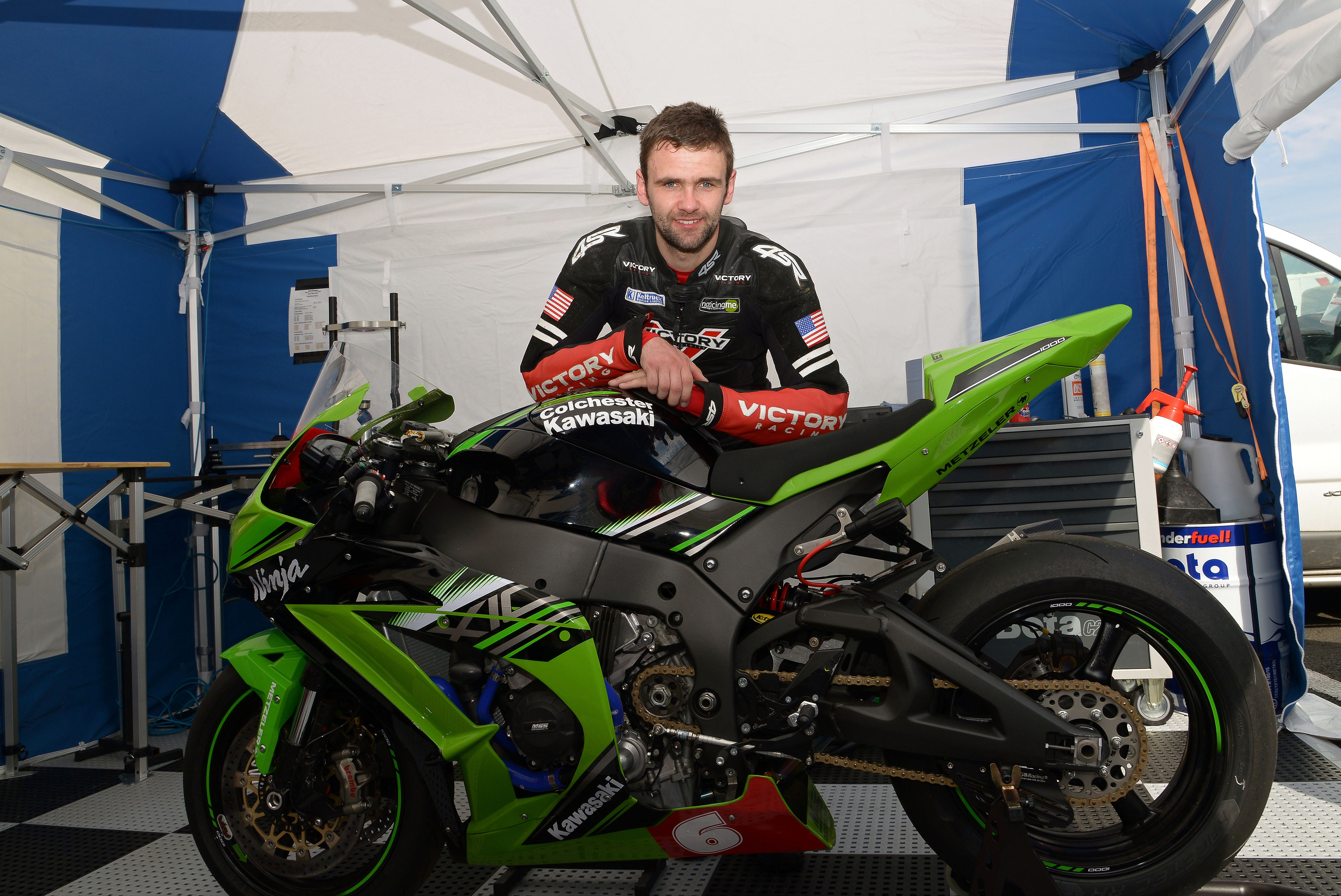 MSS Colchester Kawasaki Kicks Off International Road Race Campaign At North West 200