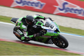Assen proves to be a tough weekend for the MSS Colchester Kawasaki team